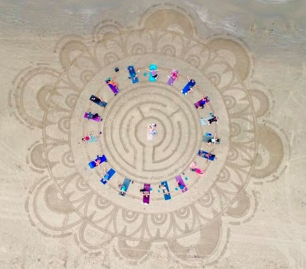 Mandala Earth Labyrinth