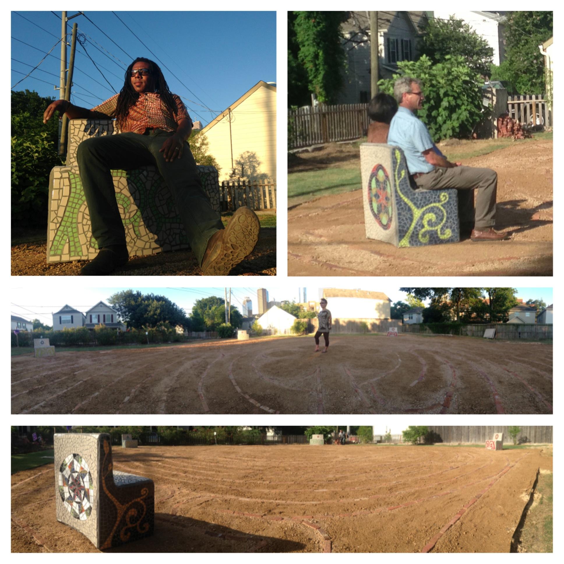Historic Freedmen's Town Labyrinth