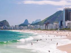 Copacobana Beach, Rio De Janiero Brazil