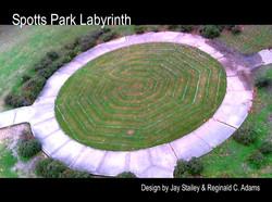 Spotts Park 7 circuit Turf Labyrinth