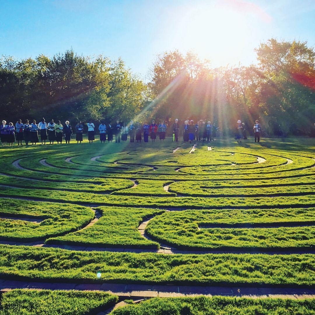 Villa DeMatel Labyrinth