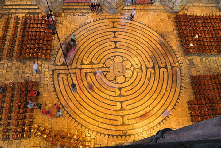 Chartres Labyrinth, France