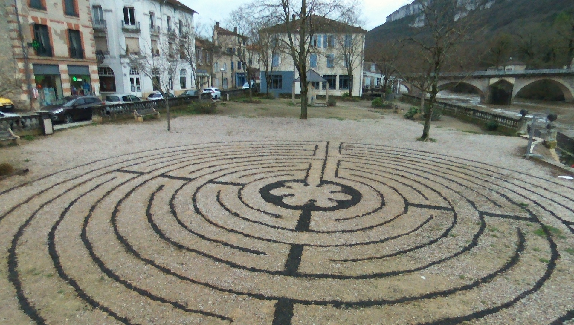 St. Antonin France Labyrinth