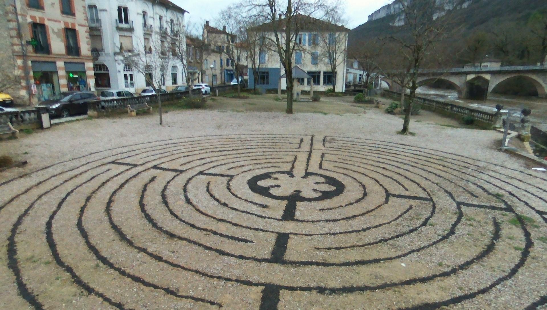 St. Antonin France Labyrinth