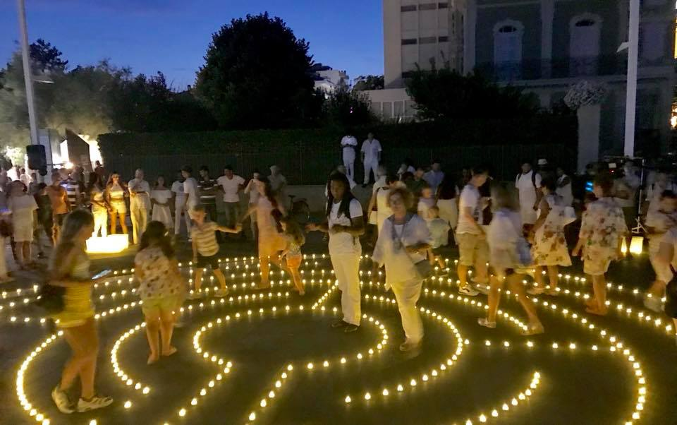 Rossini Festival Light Labyrinth