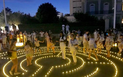 Rossini Festival Light Labyrinth