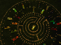 Emancipation Park Light Labyrinth