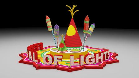 Waterfront Mall Diwali Setup