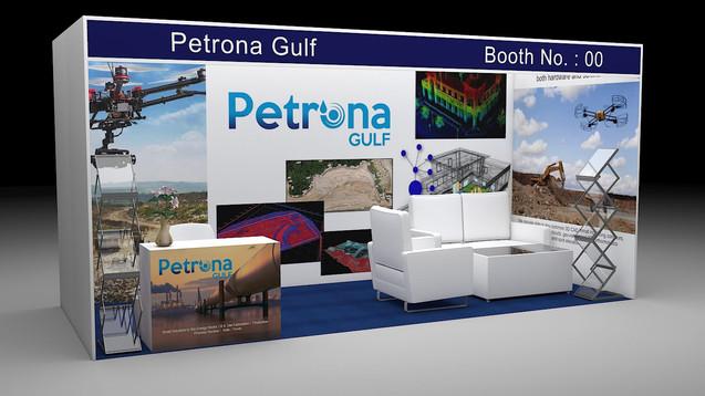 Petrona Gulf Exhibition Booth Concept
