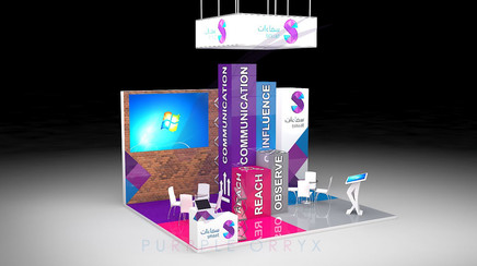 Smaat Co.'s Exhibition Concept Design