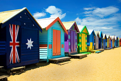 Beach Huts, Brighton Beach, Victoria