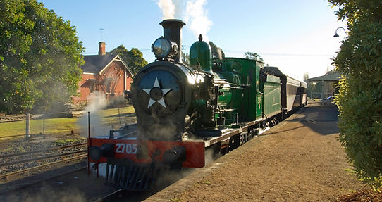 Steam Engine, Thirlmere, NSW