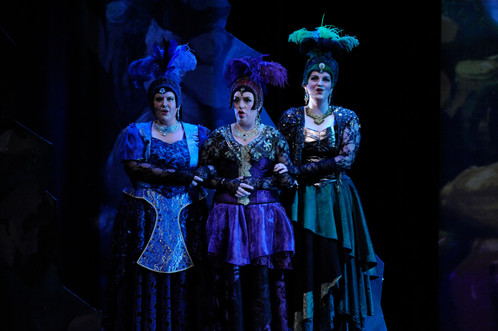 Singing Dritte Dame - Act I Quintet