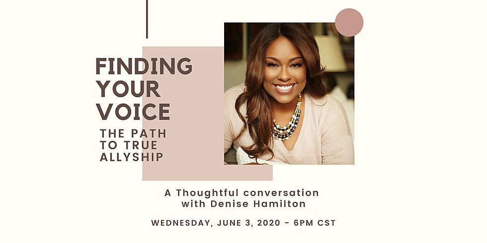 Finding Your Voice - The Path to True Allyship