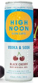High Noon Sun Sips Black Cherry