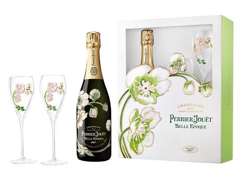 Perrier Jouet Brut Glass Gift Set