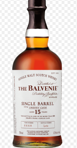 The Balvenie 15YR Single Barrel