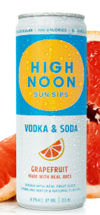 High Noon Sun Sips Grapefruit