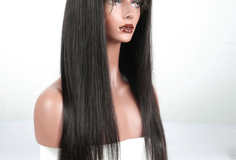 13x6 Silky Straight Frontal Wig