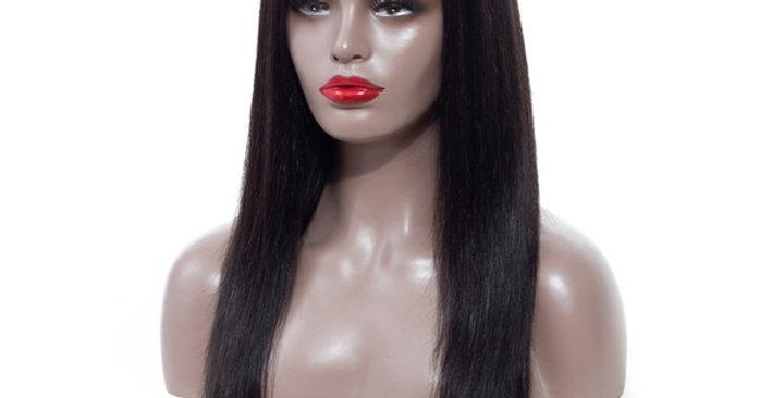 Silky Straight Closure Wig