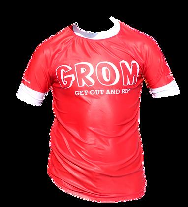 Grom Rashie (Bright Red)