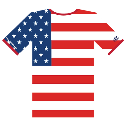 July 4th Rash Guard (Flag)