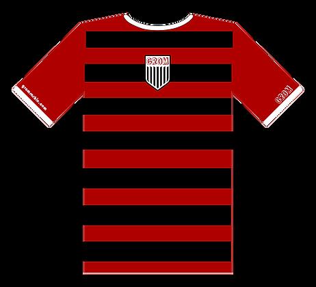 The Soccer Rashie (Black/Red)