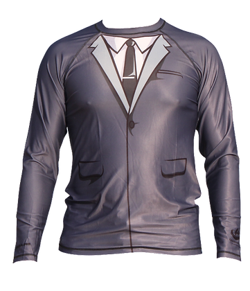 Business Man Rash Guard