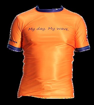 Birthday Rash Guard (Orange)