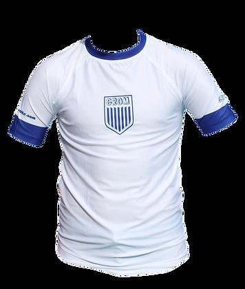 Soccer Rashie (White/ Indigo)