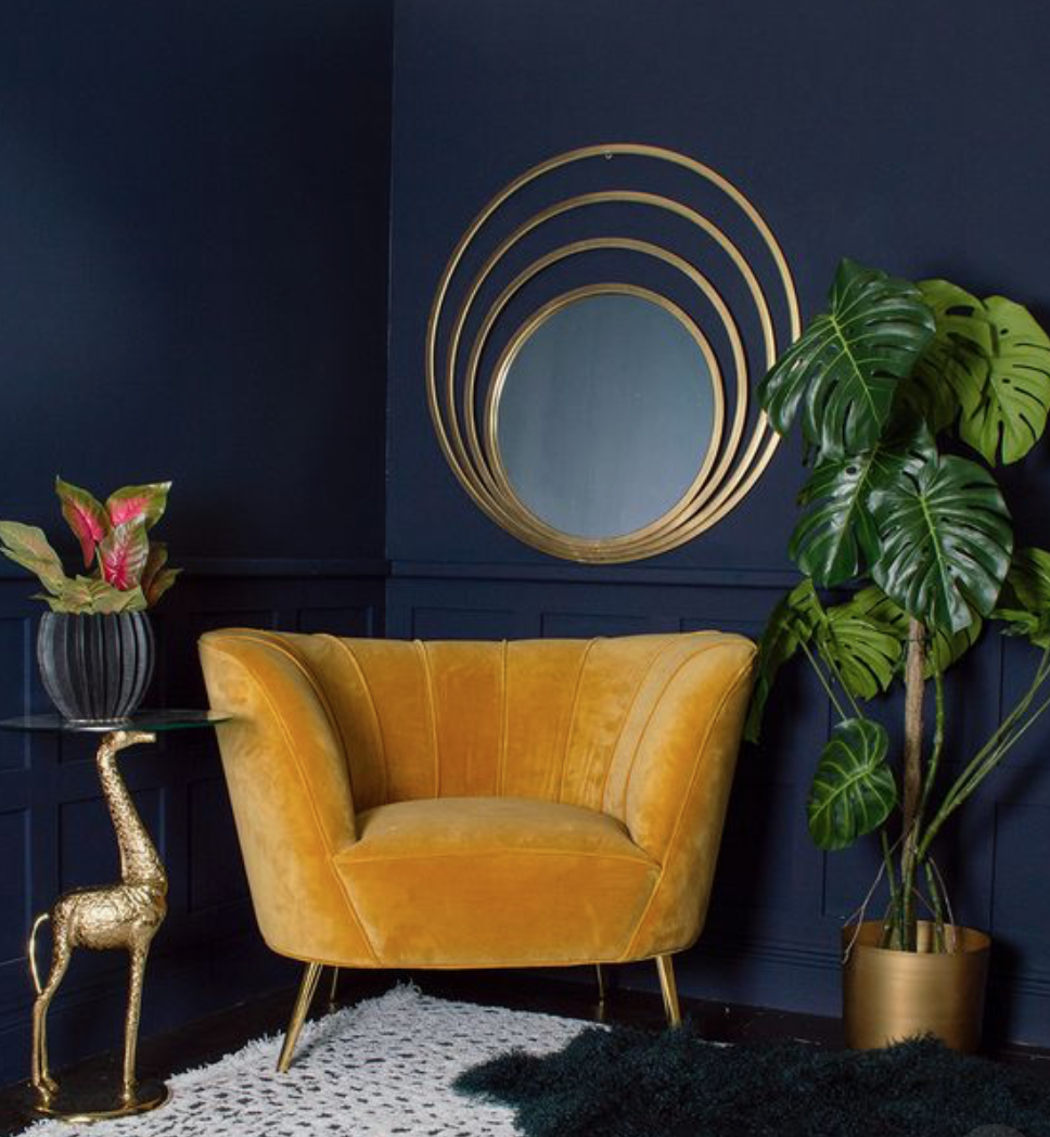Velvet chair 2019 home trends