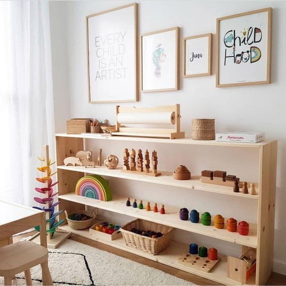 Montessori Style decorating
