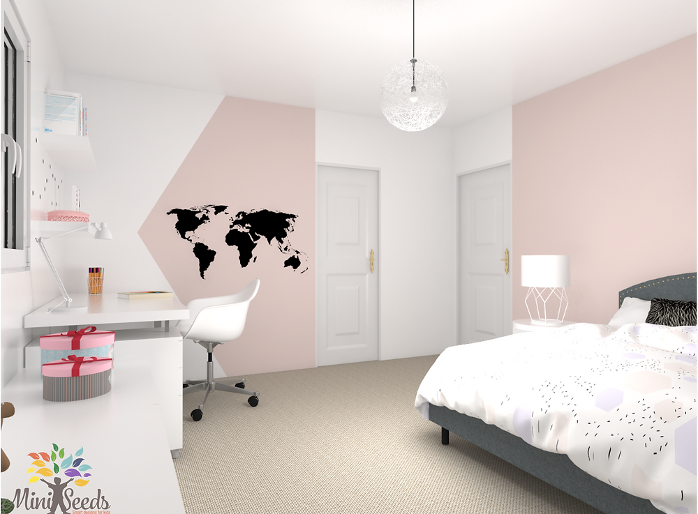 Teen room 3D design