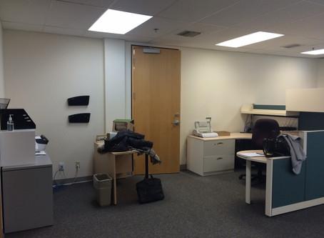 Sneak peek in an office space