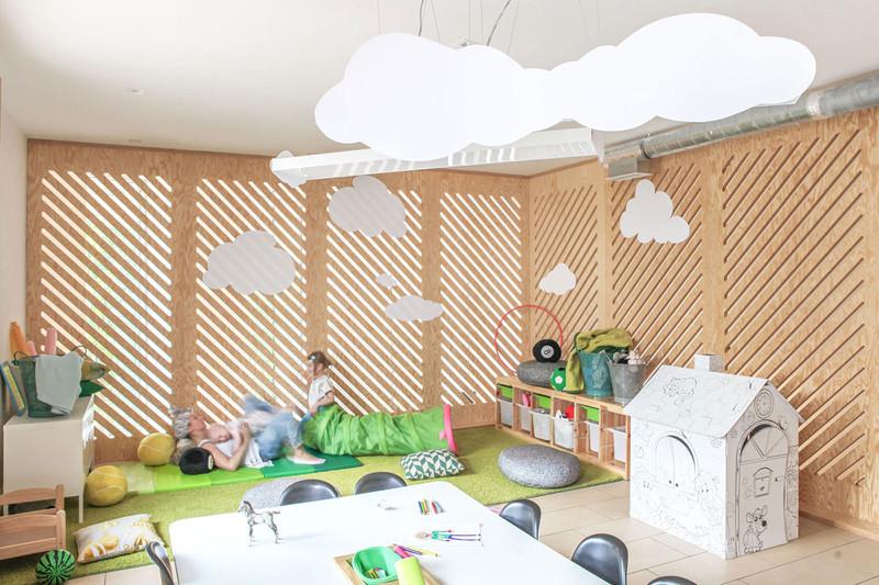 Montessori school design style