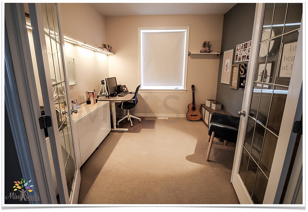After redecorating home office