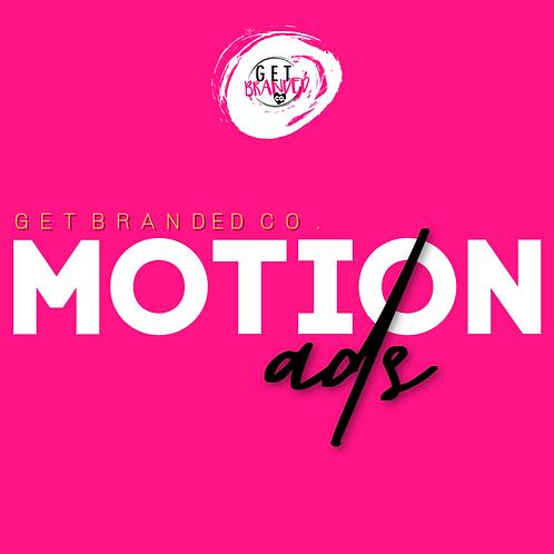 Motion Ads (Read Full Description)