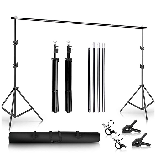 6.5x10ft Backdrop Stand | SHIPS FREE