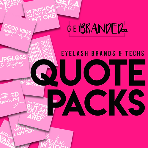 Eyelash Brands & Techs| PINK & WHITE (12)