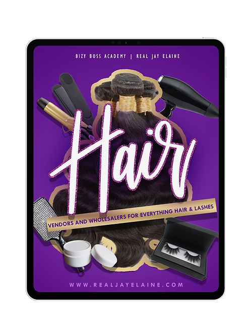 Hair Vendors & Wholesalers | E-book