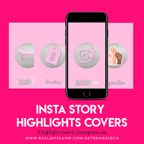 Insta Highlight Covers