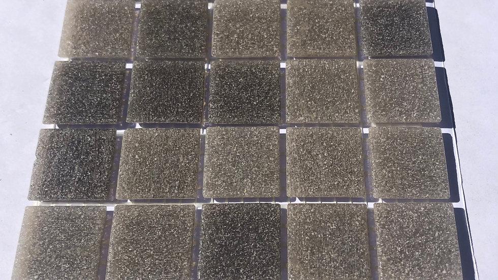 Bisazza Vetricolour: 75 DARK GREY blended mosaic tiles