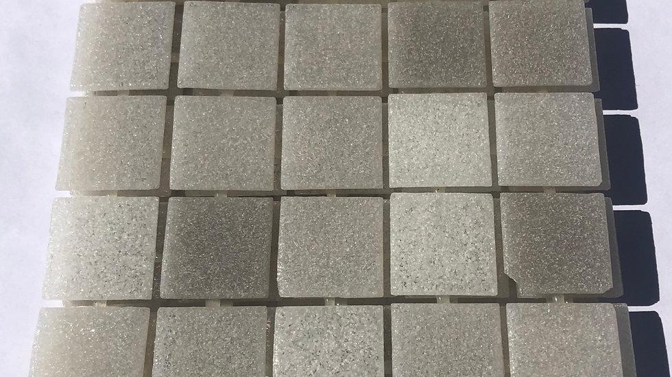 Bisazza Vetricolour: 75 MID GREY blended mosaic tiles
