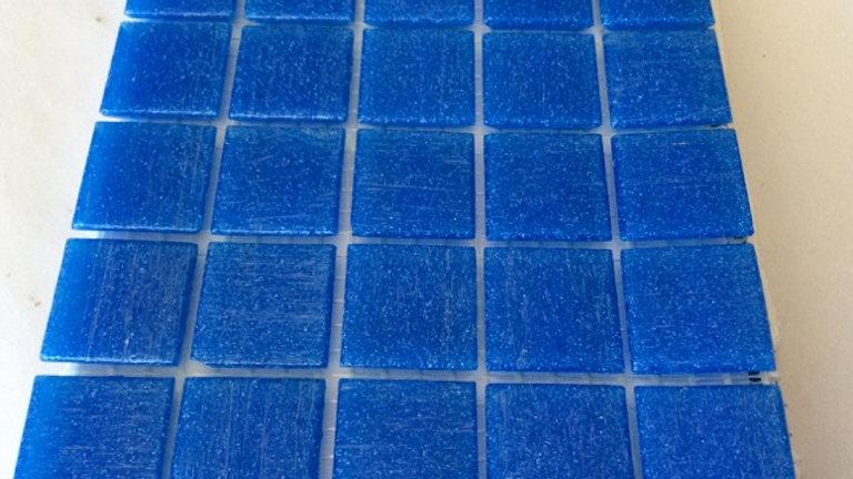 Bisazza Vetricolour: 75 Tiles Ultramarine Blue