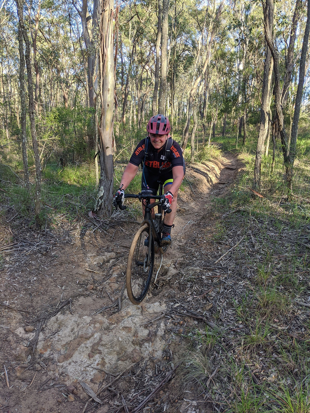A fantastic national park in north western Sydney to do some gentle gravel bike riding!