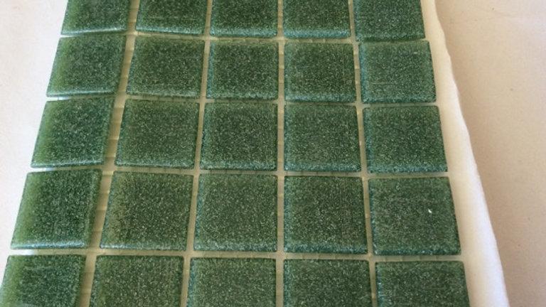 Bisazza Vetricolour: 75 Dark Green tiles