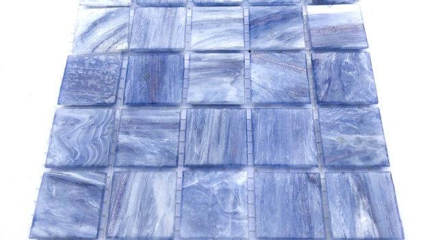 Bisazza Blends: 75 Jacaranda swirl tiles
