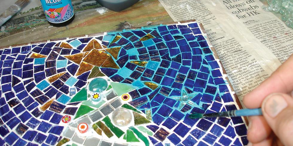 Tues AM Christmas mosaic workshop
