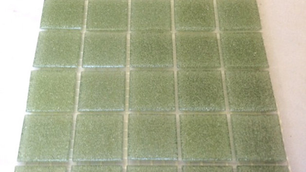Bisazza Vetricolour: 75 Light Green tiles