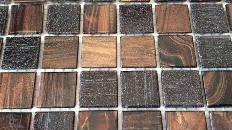 Bisazza Blend: 75 Tiles Brown tones